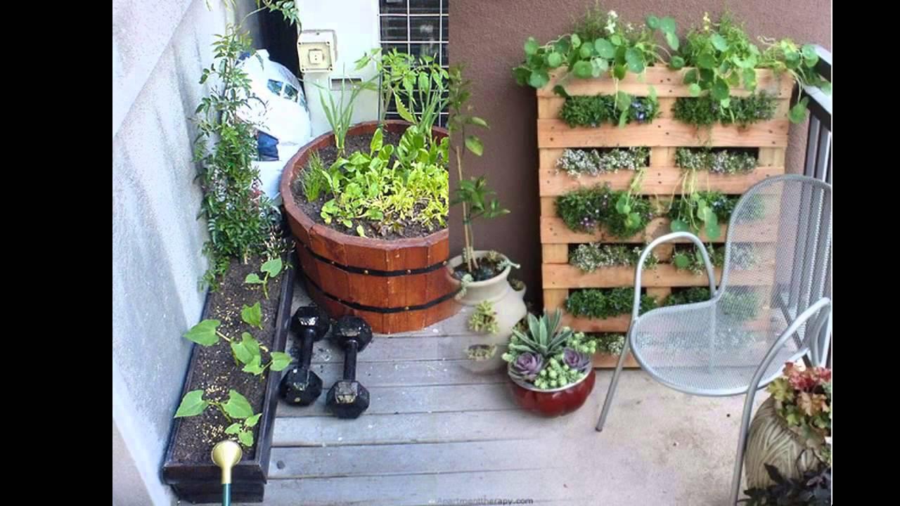 Garden Ideas Diy Balcony Garden Youtube