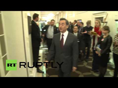 Switzerland: Russian FM Sergei Lavrov and Chinese FM Wang Yi hold bilateral talks