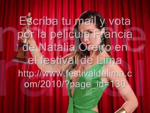 Voten por Natalia Oreiro