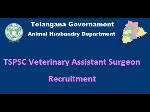 tspsc: veterinary assistant surgeon in animal husbandry; latest ...