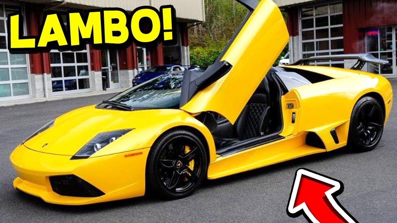 My New Car: MOOSECRAFT BUYS A *NEW* LAMBORGHINI! (MY NEW CAR)