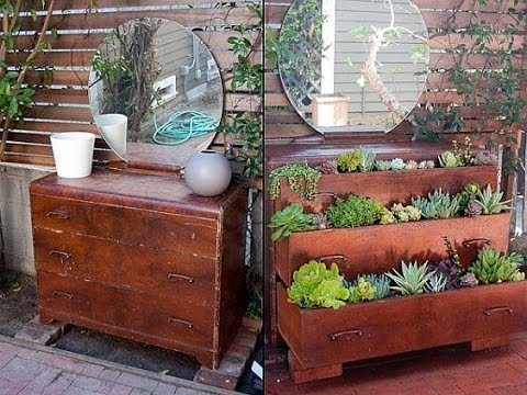Ideas increibles para reutilizar muebles viejos - YouTube
