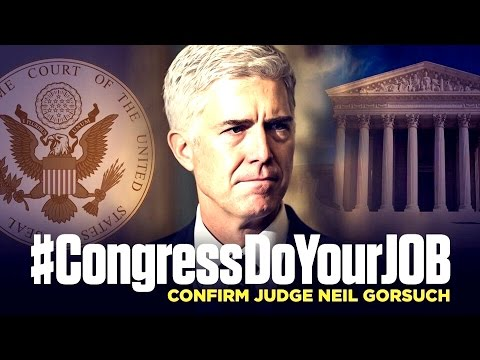 PART 2: Judge Neil Gorsuch Confirmation Hearing For Supreme Court Justice Nominee 3/22/17 VOTE