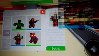 HAVING 116.M+ Bargeld In Roblox Superheld 2 Spieler Tycoon