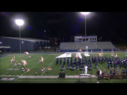 Bryant High School Marching Band at assessment   10-16-2017