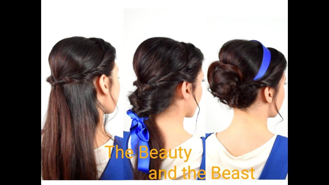 Emma Watson Hair Style: Emma Watson's Belle Hairstyles Beauty And The Beast