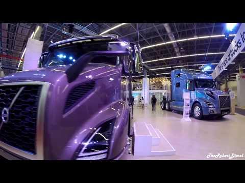 Volvo VNR 640 Con Eje Retráctil En ExpoTransporte 2017