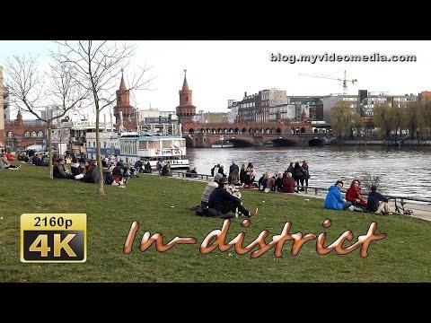 East Side Gallery and Oberbaum Bridge, Berlin - Germany 4K Travel Channel