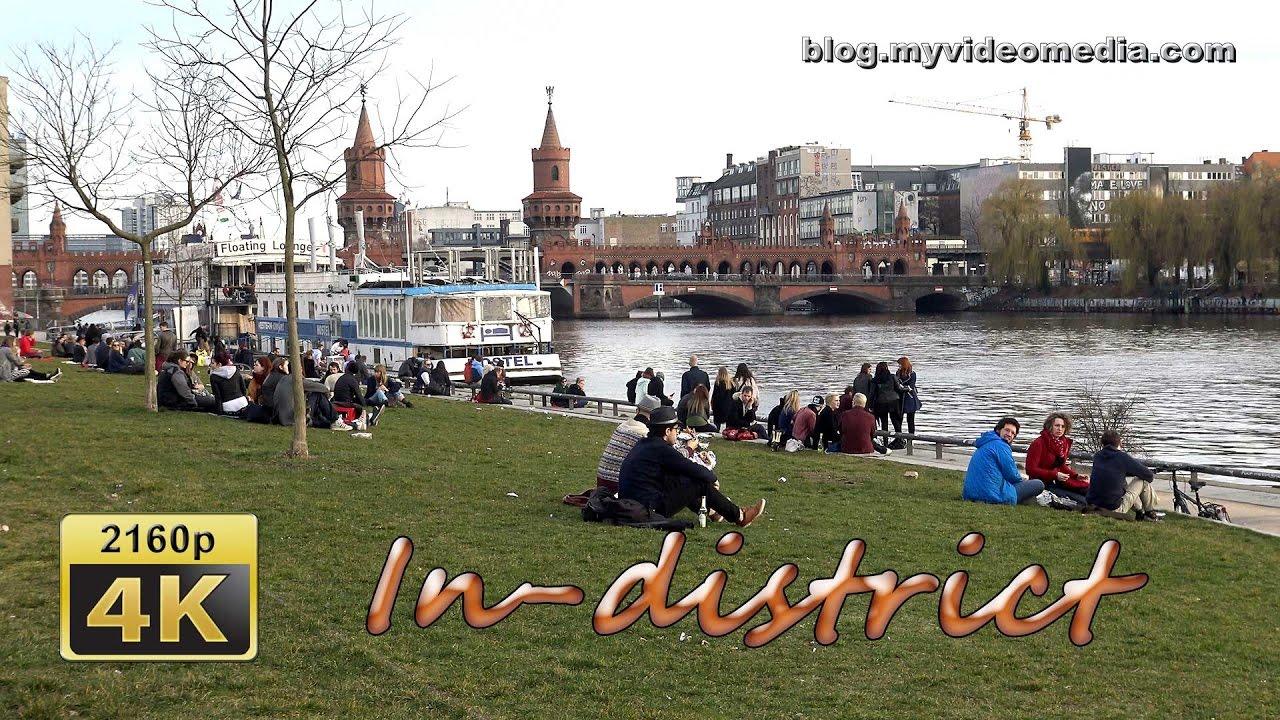 East Side Gallery and Oberbaum Bridge, Berlin - Germany 4K ...