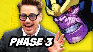 Avengers 3 Infinity War Black Panther and Thor 3 - Confirmed Marvel Phase 3