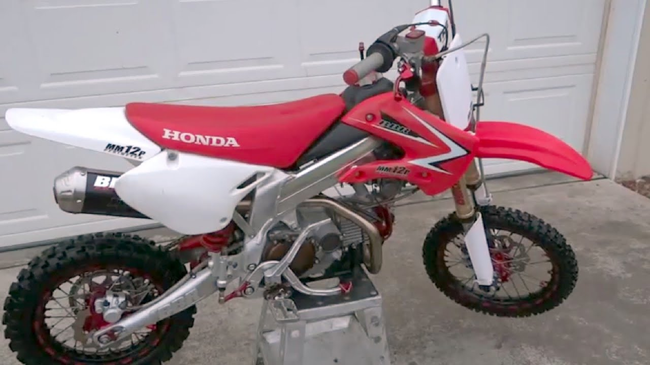 Honda Xr Modified Pictures >> Sick BBR MM12P Modified Production Bike Pitbike Mini - YouTube
