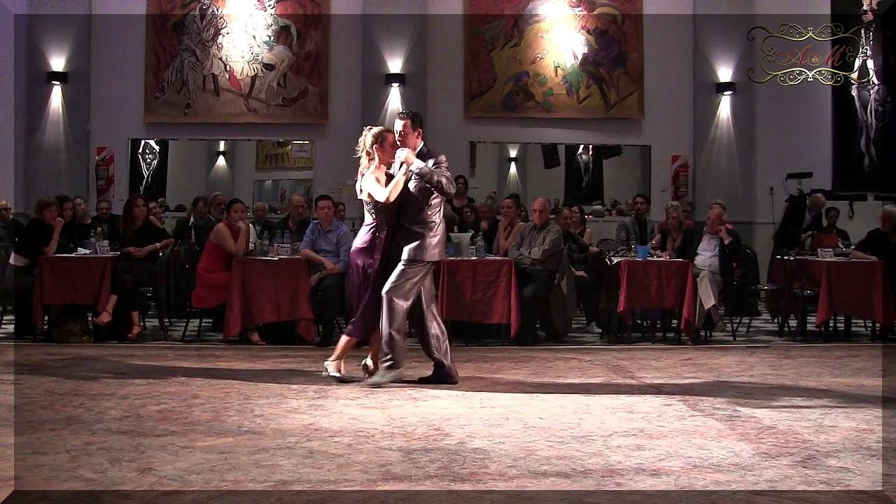 A Puro Tango Salon Canning Of Rommel Oramas Y Constanza Vecslir Tango Parakultural