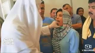 Mukzijat Allah SWT, perempuan bisu ini langsung bisa bicara setelah di bacain surat ayat Al Qur'an r