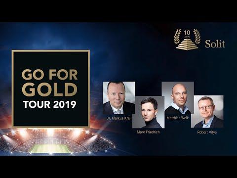 Dr. Markus Krall, Friedrich & Weik, Robert Vitye | Best-of SOLIT Go for Gold-Tour 2019