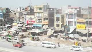 Kamoke 1,GT ROAD (Video captured from roof)HD