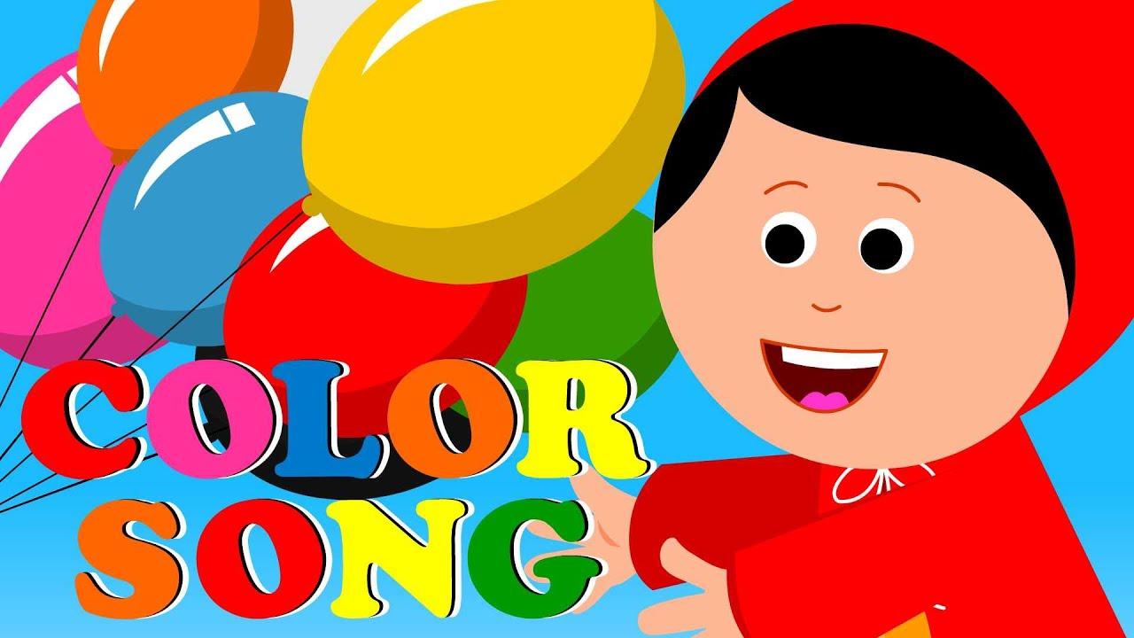Colors Song | Colors Kids song For Babies | Kindergarten nursery ...