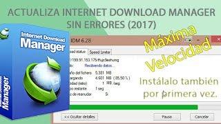 Baixar Instala o actualiza Internet Download Manager, Explicación detallada.