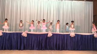 Sophiya's ballet performance at Ekamai International School