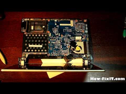 How to reassemble laptop Acer Aspire V5-431, V5-471