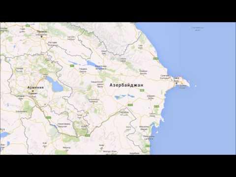 Где находится Азербайджан? — страна на карте мира