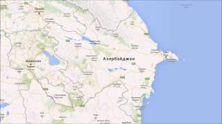 видео Карта автомобильных дорог азербайджана