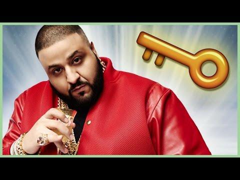 TOP 5 DJ KHALED MAJOR KEYS TO SUCCESS!