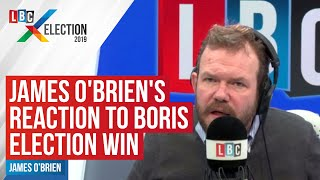 James O'Brien's reaction to Boris Johnson's huge general election victory
