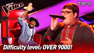 Download Mp3 The HARDEST SONGS to sing on The Voice Top 10