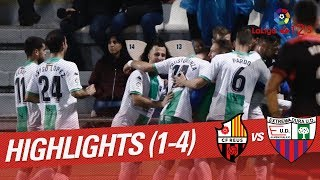 Resumen de CF Reus vs Extremadura UD (1-4)