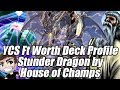 STUNDER!? Thunder Dragon with REAL Traps!? My YCS Ft. Worth Yu-Gi-Oh! Deck Profile