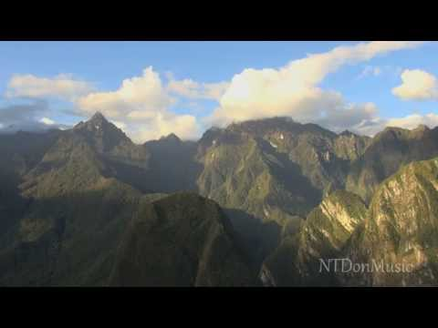 Traditional Chinese Music - Chinese Flute Ensemble with field scenes