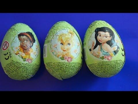 Феи киндер сюрприз  шоколадные яйца с игрушками феями,феи мультфильмы