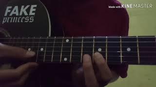 Gambar cover Belajar Gitar reff Bidadari Tak Bersayap