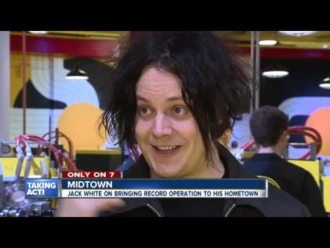 Jack White speaks about pressing plant at Third Man Records