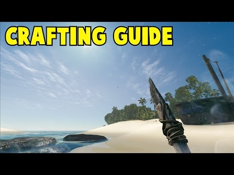 Stranded Deep  Complete Crafting Guide