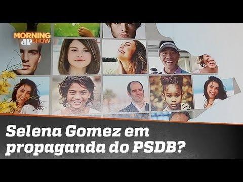 Selena Gomez em propaganda do PSDB? Vem ver o que aconteceu