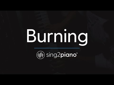 Burning Piano Karaoke Instrumental Sam Smith