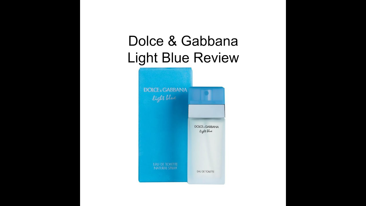 2017 05 dolce gabbana intense perfume review - Dolce Gabbana Light Blue Edt For Women Fragrance Review
