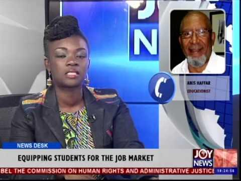Graduate Unemployment in Ghana - News Desk (9-12-14)