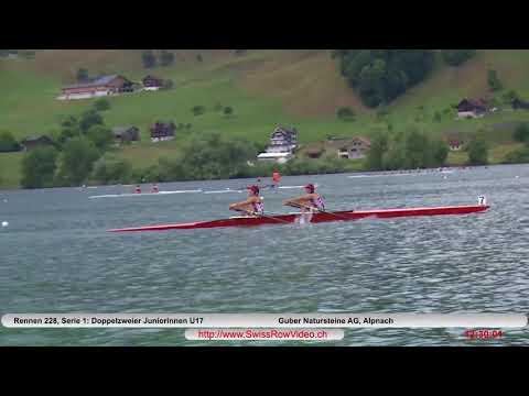 261, BJW2x, Serie 1, Sarnen, 10  Juni, 2018, Doppelzweier Juniorinnen U17 Rennen 228