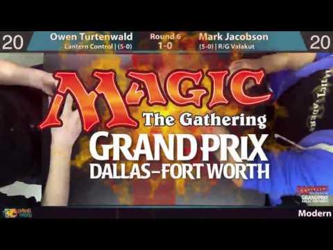 GP Dallas, Round 6 - Owen Turtenwald (Lantern Control) vs. Mark Jacobson (R/G Valakut)