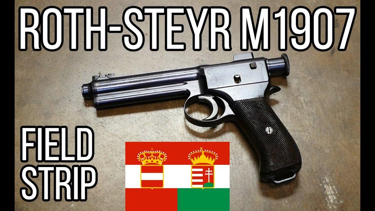 The Roth-Steyr: An Austrian Striker-Fired Handgun Before It