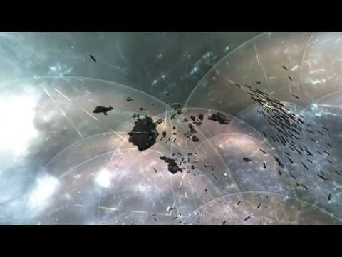 EVE Online: The Siege of M-OEE8 - Record Breaking Number of Players | 1080p