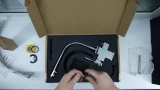 видео Кран для питьевой воды: подключение смесителя для кухни под фильтр