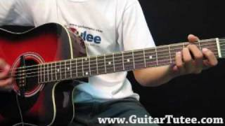 Miley Cyrus - When I Look At You, by www.GuitarTutee.com