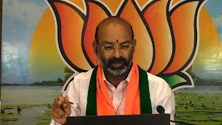Bandi Sanjay Kumar's Press Meet via Video Conference on Aatma Nirbhar Bharat //09-07-2020