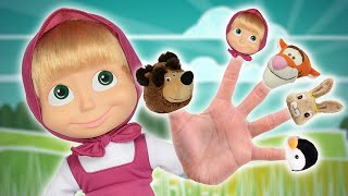 masha and the bear finger family song english daddy finger nursery rhyme for children and babies