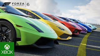 Microsoft and Lamborghini Reveal the Lamborghini Centenario as the Next Forza Cover Car