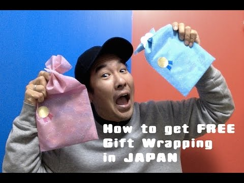 How to Get Free Gift Wrapping in Japan