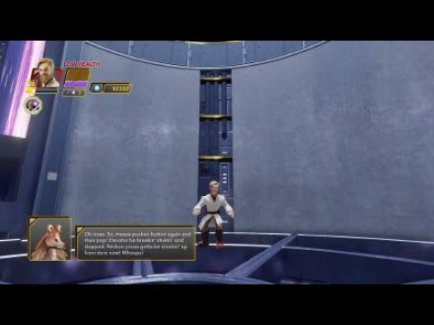 Disney Infinity 3.0 part 10 charging  up the control systems jar jar is so anoiying |